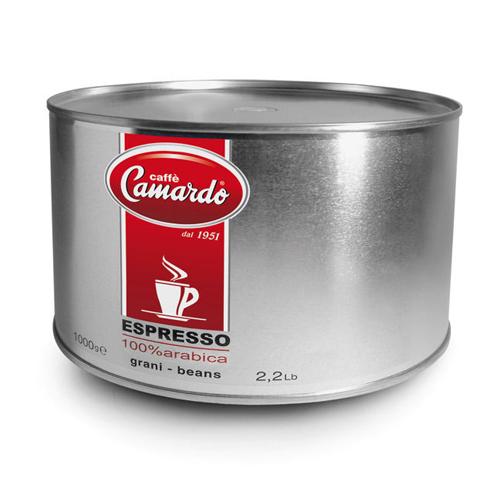Hạt cafe Espresso100% Arabica Hi-tech 1kg (can)